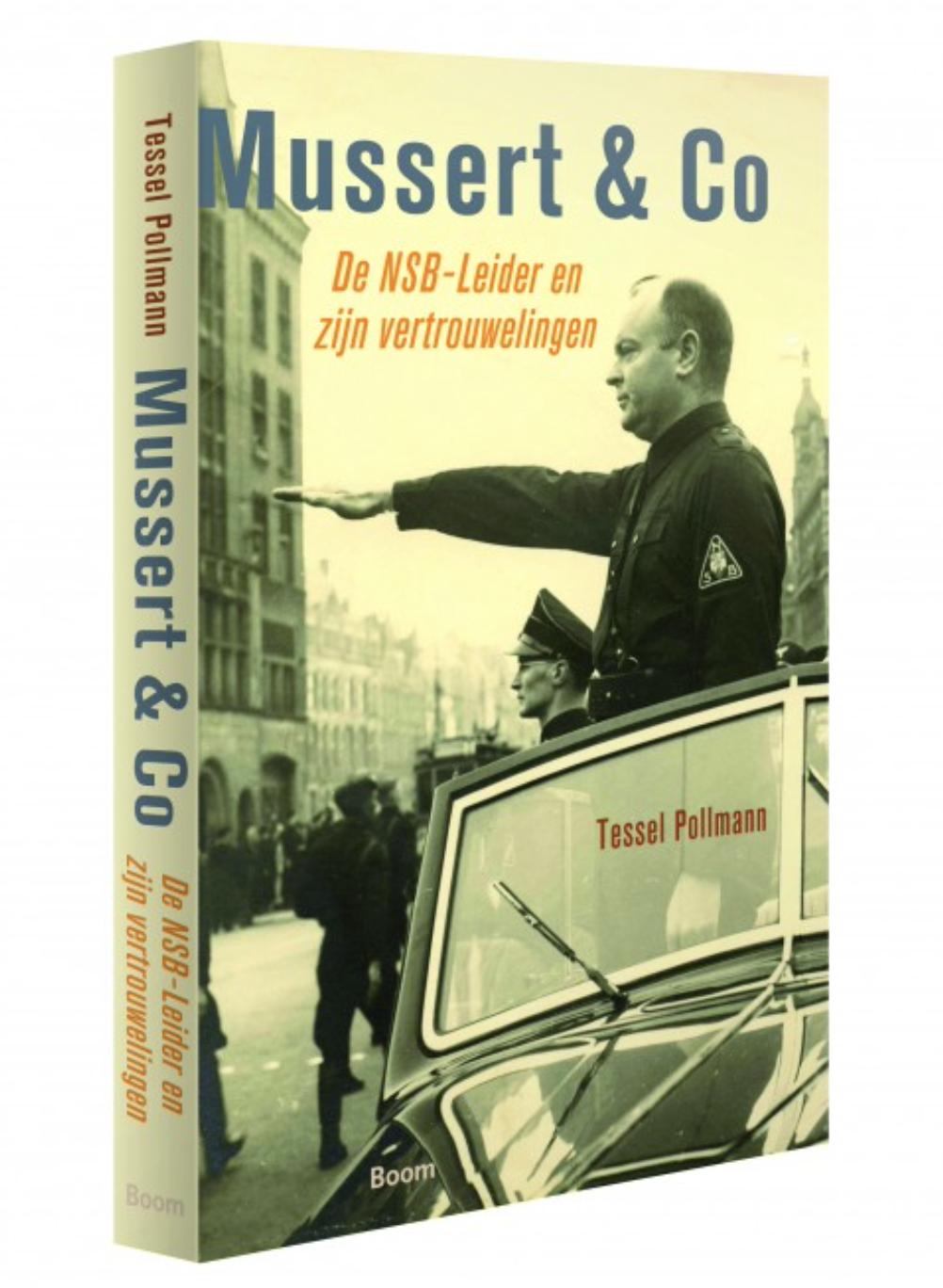 Boekomslag Mussert & Co